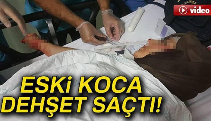 Samsun'da eski koca dehşeti: 1'i ağır 2 yaralı