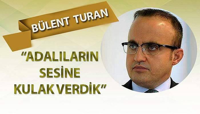 Turan, herhangi bir ihale süreci olmayacağını belirtti