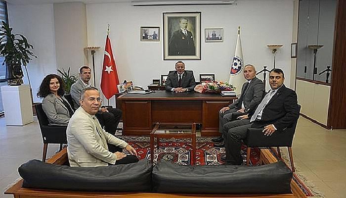 Serbest Muhasebecilerden ÇTSO'ya Ziyaret
