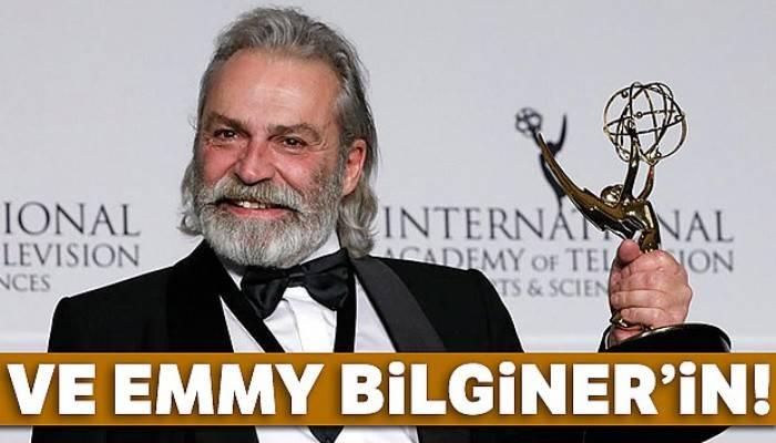 Haluk Bilginer, Emmy Ödülleri'nde en iyi erkek oyuncu seçildi