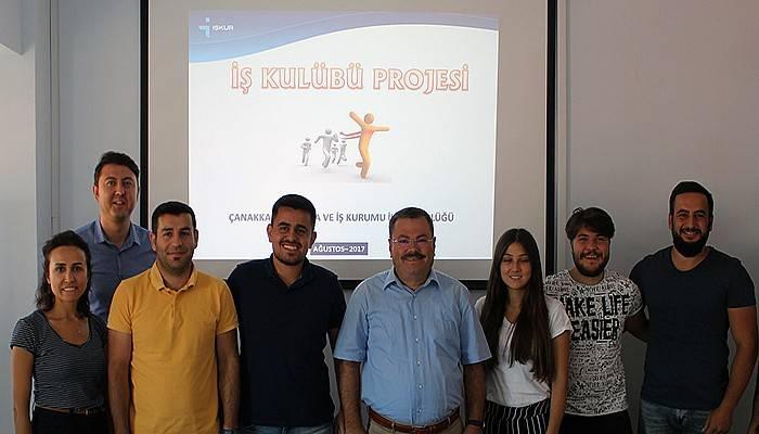 Çanakkale İşkur'dan İş Kulübü Projesi