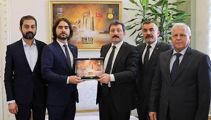 Vali Tavlı, MHP İl Yönetimini Kabul Etti