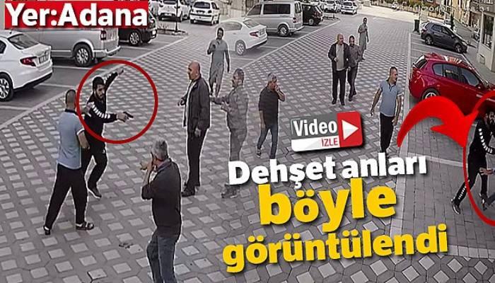 Adana'da dehşet anları! Apartman sakini kapıcıyı vurdu