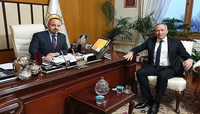 Turan, Mecliste Çanakkalelileri Ağırladı
