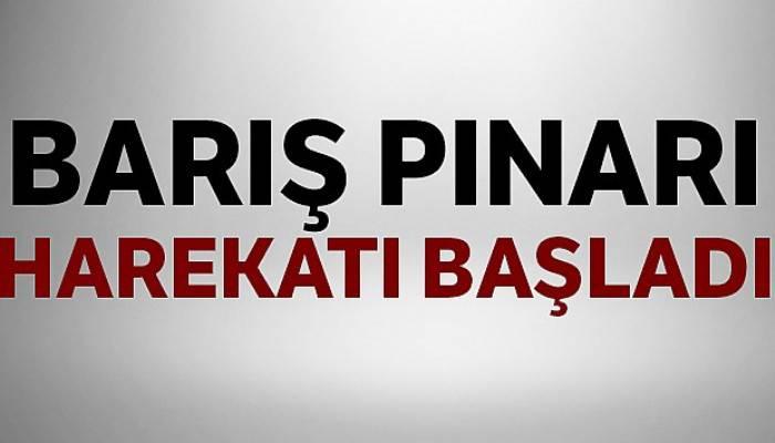 Cumhurbaşkanı Erdoğan, 'Barış Pınarı Harekatı başlamıştır'