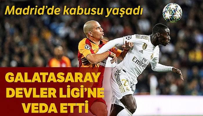 Real Madrid 6-0 Galatasaray Maçı Özeti ve Golleri