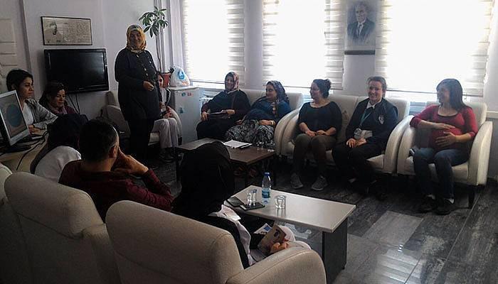 Çanakkale Devlet Hastanesinde, anne adaylarına özel sınıf