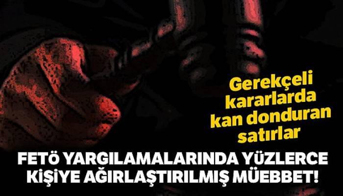 İzmir'deki FETÖ yargılamalarında yüzlerce kişiye ağırlaştırılmış müebbet
