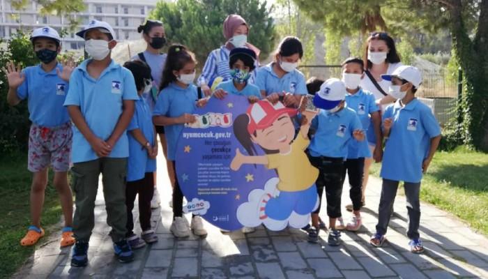 Göçmen Çocuklar İçin Düzenlenen Yaz Okulu Etkinlikleri Sona Erdi