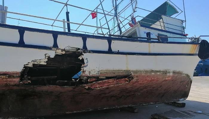 Çanakkale'de iki tekne çarpıştı 10 kişi ölümden döndü