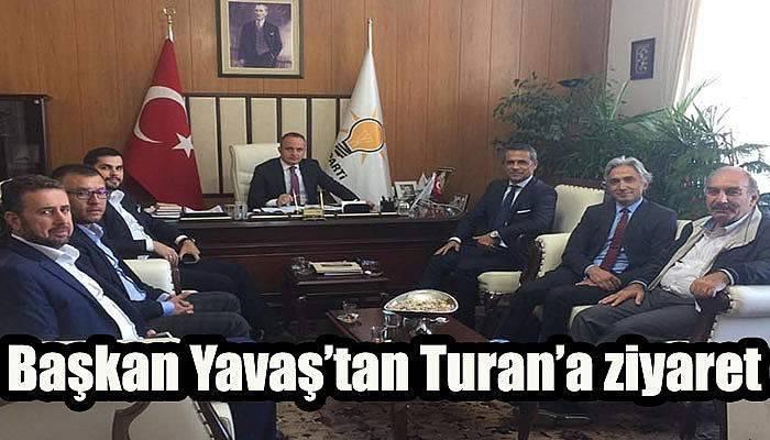Başkan Yavaş'tan Turan'a ziyaret