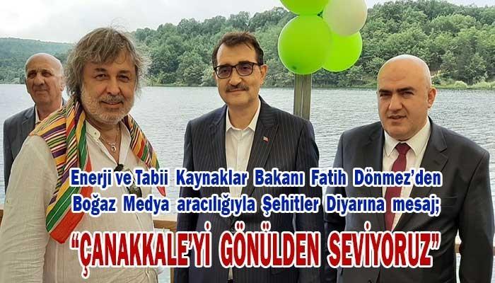 """""""Çanakkale'yi gönülden seviyoruz"""" (VİDEO)"""