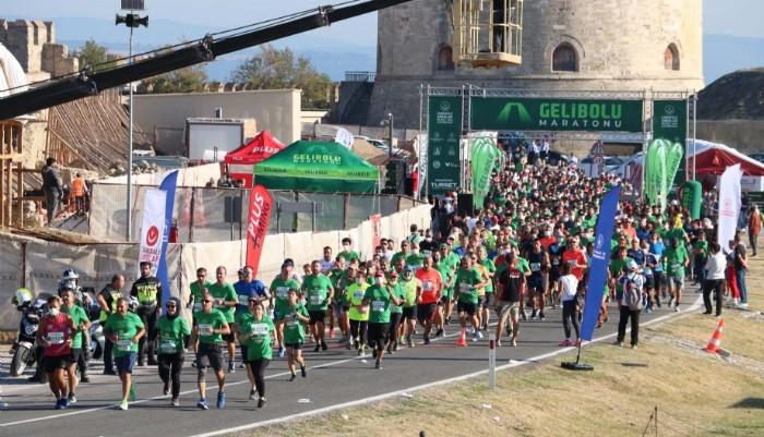 Gelibolu Maratonuna 11 ülkeden sporcular katıldı