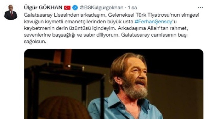 Sosyal medyada Ferhan Şensoy gündem oldu