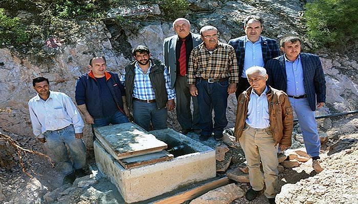 Hacılar Obası'nda Su Sorunu Giderildi (VİDEO)