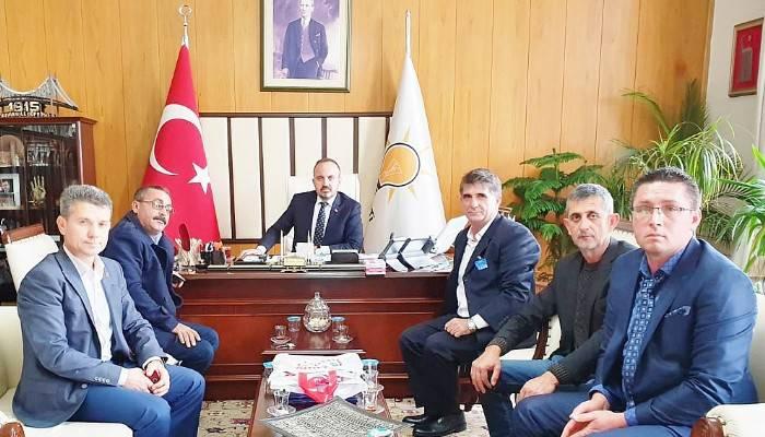 Bigalı Muhtarlar Ankara'da