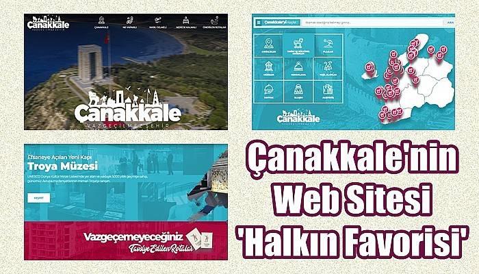 Çanakkale Web Sitesi Altın Örümcek Ödüllerinde 'Halkın Favorisi' Seçildi