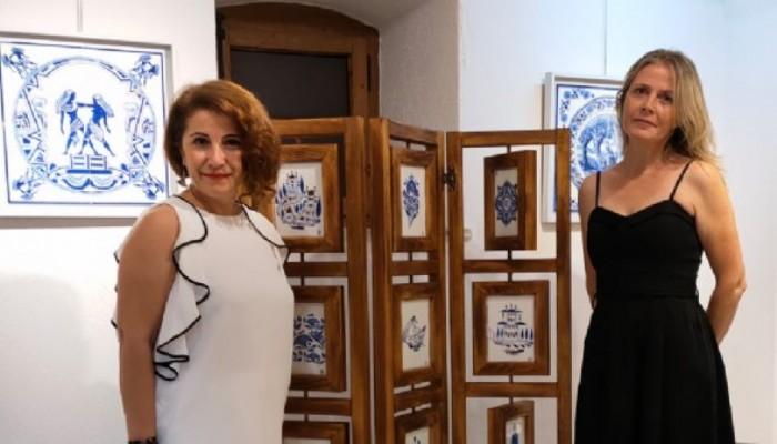 Geçmişin Hayallerle Süslendiği 'Mavi Beyaz Ateş' Sergisi Açıldı
