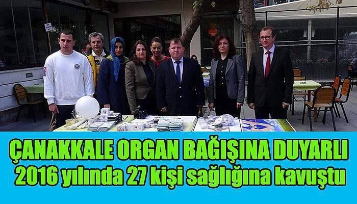 Organ bağışı standı açıldı