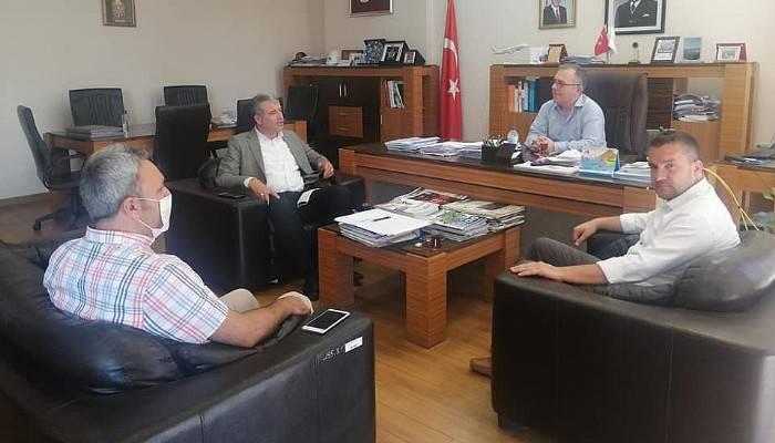 Ulaştırma Bölge Müdürünü Başkan Elbi Ziyaret Etti