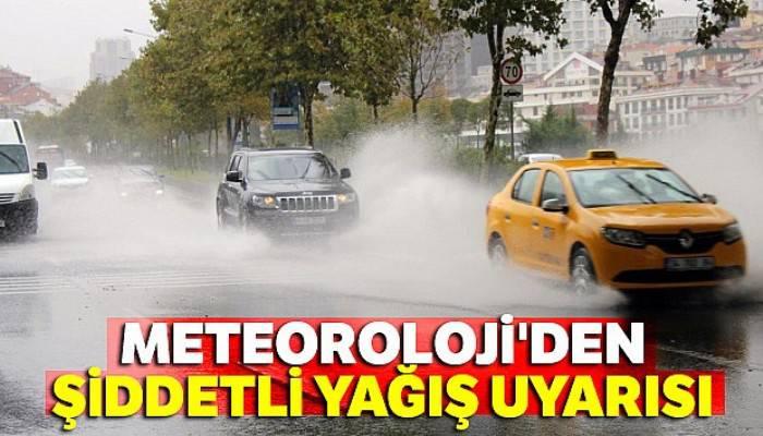 Meteoroloji'den şiddetli yağış uyarısı |1 Kasım yurtta hava raporu