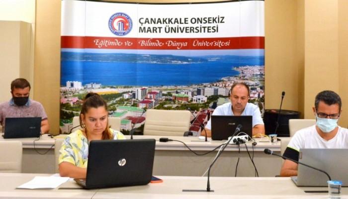 ÇOMÜ, Üniversiteni Keşfet YÖK Sanal Fuarında tanıtıldı