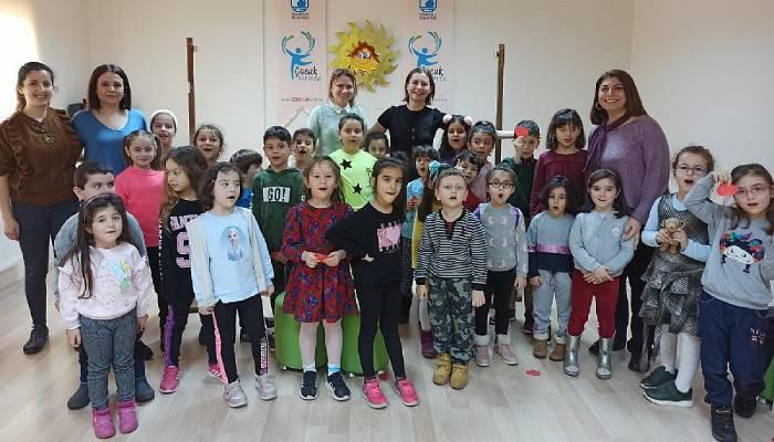 Çocuk Kültür Evi'nde yaratıcı drama buluşması