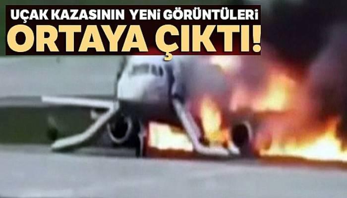 41 kişinin öldüğü uçak kazasının yeni görüntüleri ortaya çıktı