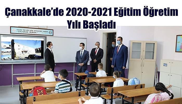Çanakkale'de 2020-2021 Eğitim Öğretim Yılı Başladı