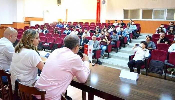 ÇOMÜ'de 'Basketbol Söyleşileri' Gerçekleştirildi