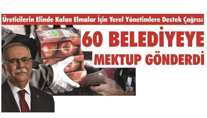 Başkan Gökhan'dan Elma Üreticileri İçin Yerel Yönetimlere Destek Olma Çağrısı: 60 BELEDİYEYE MEKTUP GÖNDERDİ