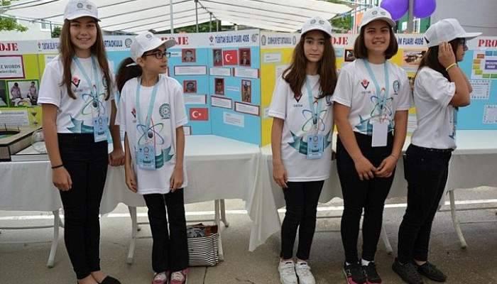 Biga'da TÜBİTAK Bilim Fuarı açıldı