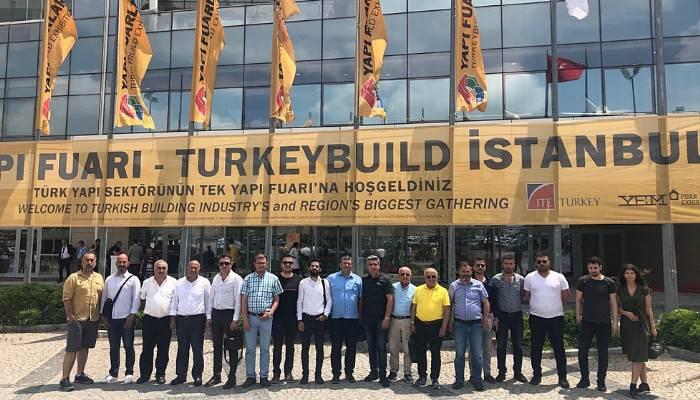 ÇTSO üyeleri 42. Turkeybuild İstanbul Yapı Fuarını ziyaret etti