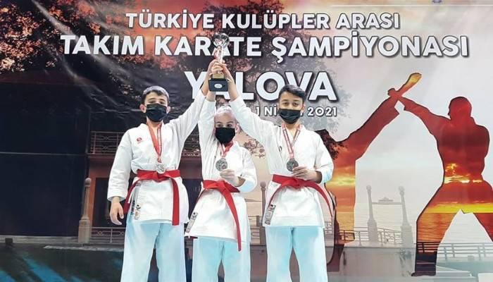 Türkiye Karate Şampiyonasında Gümüş Madalya Çanakkale'nin