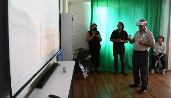 Troya Festivalinde Bir İlkiBaşaran Teknoloji Ofisine Başkan Gökhan'dan Ziyaret