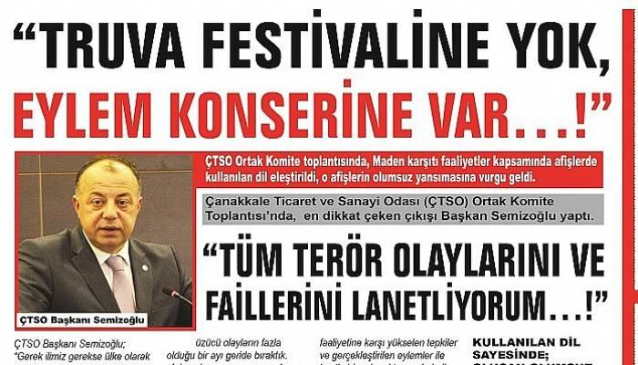 """""""TRUVA FESTİVALİNE YOK, EYLEM KONSERİNE VAR…!"""""""