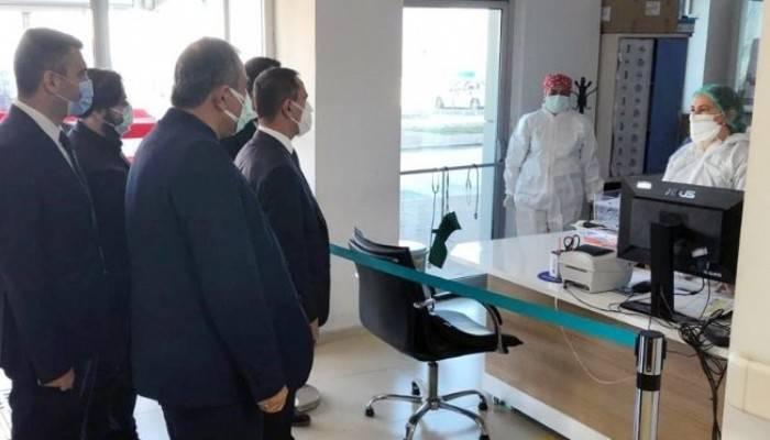Lapseki Devlet Hastanesi Covid servisine ziyaret
