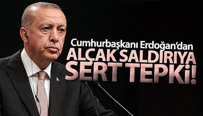 Cumhurbaşkanı Erdoğan: 'Hain saldırının bedeli bu alçaklara ödetilecektir'