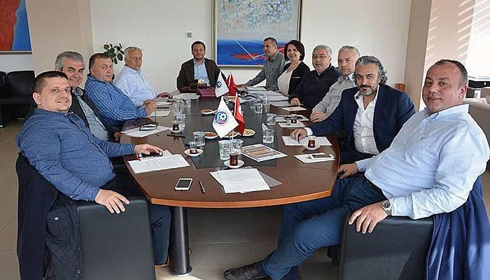 ÇTSO yönetimi toplandı
