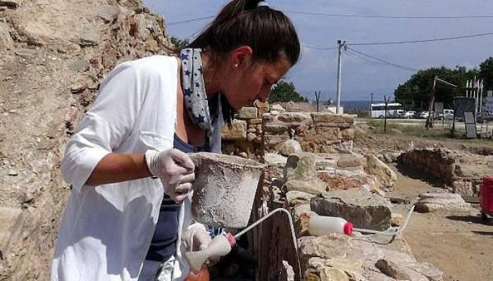Parion Antik Kenti'ne 'kertenkele' tehdidi (VİDEO)