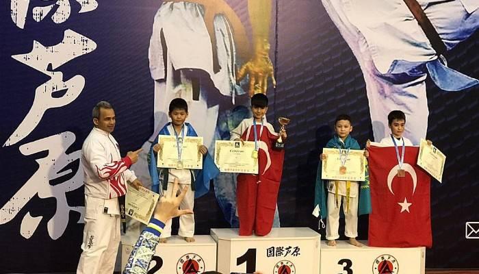 Çanakkale Ateşi Gençlik ve Spor Kulübü Türkiye Ashıhara Milli Takım Sporcularımız Birinci