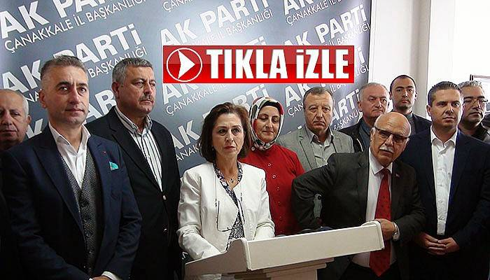 AK Parti, Çanakkale Belediye Meclisine katılmama kararı aldı (VİDEO)