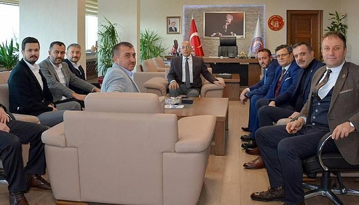 AK Parti İl Genel Meclisi Üyelerinden Rektöre Ziyaret