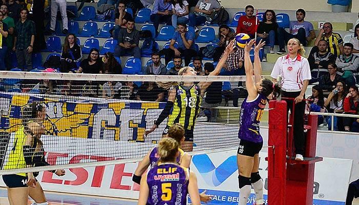 Çanakkale Belediyespor, Fenerbahçe'yi ağırladı (VİDEO)