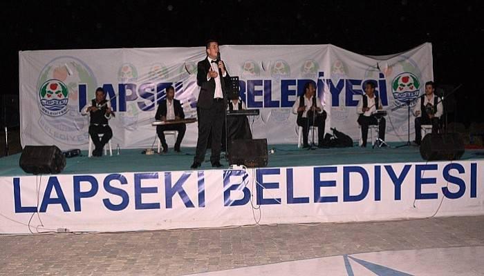 Lapseki Vatandaşları Türk Sanat Müziğiyle Buluştu (VİDEO)