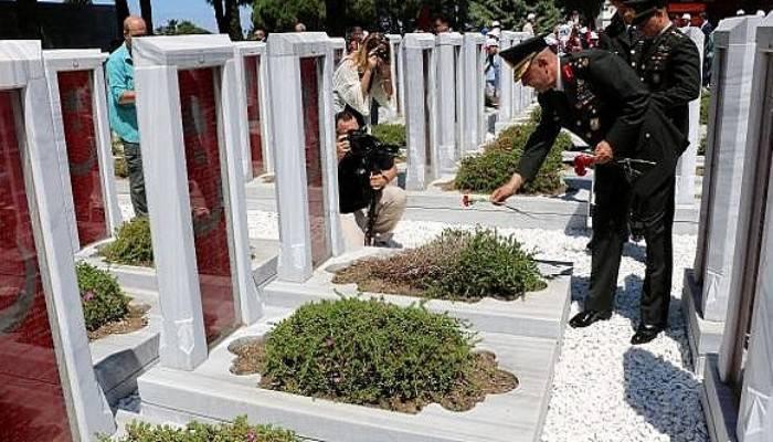 Çanakkale Şehitler Abidesi'nde 15 Temmuz anması (VİDEO)