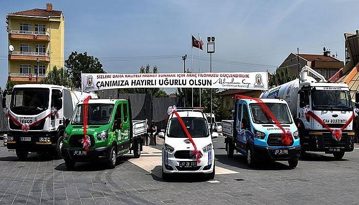 Çan Belediyesi Araç Filosunu Güçlendiriyor
