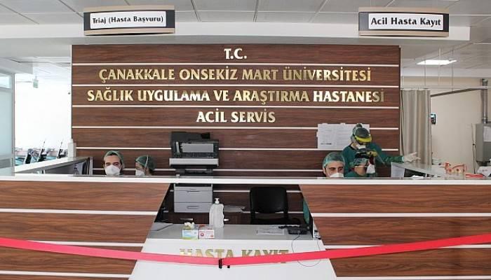 Çanakkale'de Koronavirüsü Yenen 4 Hasta Taburcu Oldu