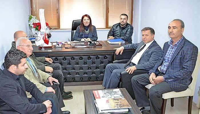 CHP heyetinden Çanakkale Gazeteciler Cemiyeti'ne ziyaret