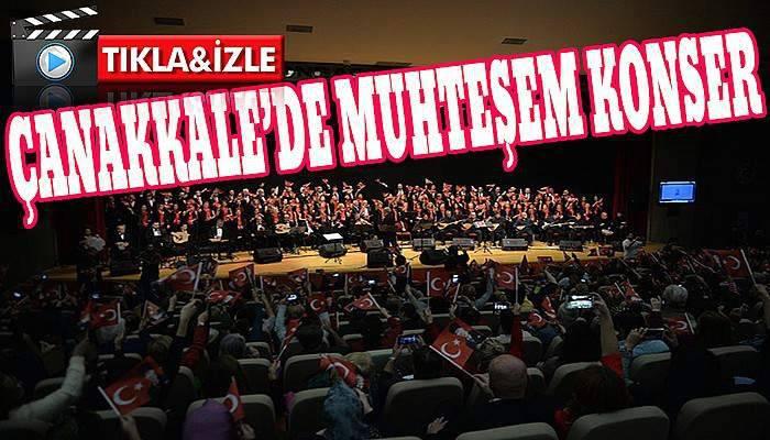 Atatürk'ün sevdiği şarkıları seslendirdiler...
